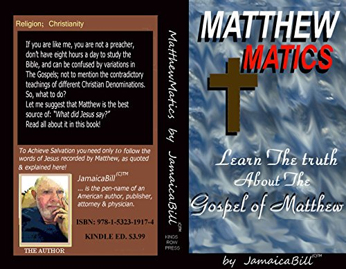 Download PDF MatthewMatics. - Learn The Truth About The Gospel Of Matthew.