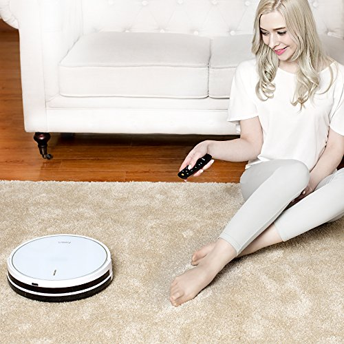 Fmart Pro Robotic Vacuum Cleaner with Self-Charging, Mop and Water Tank, Robot Vacuum Cleaner for Hard Floor, Low-pile Carpet, APP Control, Wi-Fi Connected - Cleaning Robot FM-R570 by Fmart (Image #3)