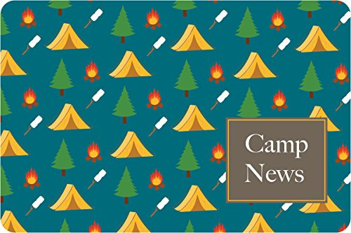 "Camp Grounds Camp Postcards | Kid Postcards | Camp Stationery | 6"" X 4"" Postcards for Kids"