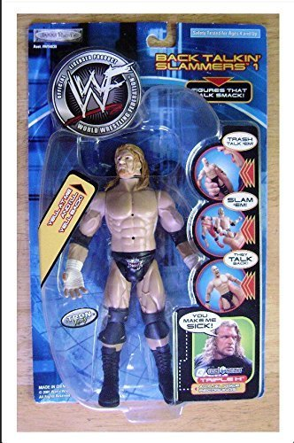 WWF WWE Jakks Back Talkin' Slammers Series 1 Triple H Action Figure by WWE by