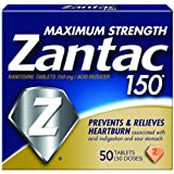 Zantac 150 Maximum Strength Tablets, 50 Count