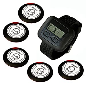 Singcall Wireless Calling System Wireless Waiter Pager