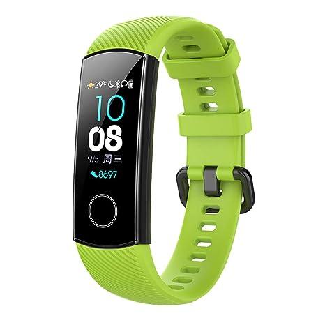 Fanct Silicone Watch Bracelet Smart Watch Wrist Strap for Huawei Honor Band Fitness Sports Tracker Bracelet for Kids Men Women