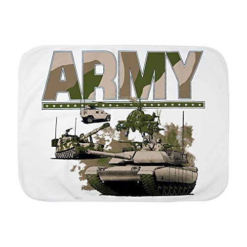 Hummer Blanket (Royal Lion Baby Blanket White US Army Hummer Soldiers Tanks)