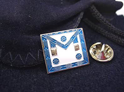 Amazon com: Masonic Lodge Master Mason Apron HAT TIE OR