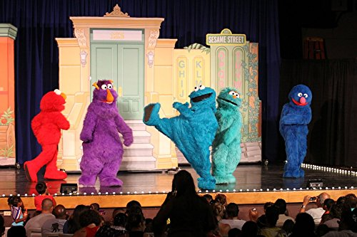 Grover Stand - LAMINATED POSTER Elmo Grover Rosita Honker Cookie Monster Poster 24x16 Adhesive Decal