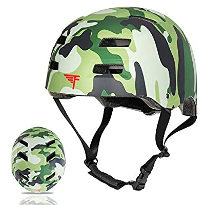 Flybar Dual Certified CPSC Multi Sport Kids & Adult Bike and Skateboard Adjustable Dial Helmet - Multiple Colors & Sizes by Flybar Inc.