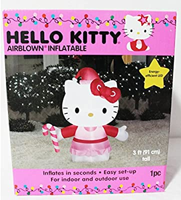 Hello Kitty Airblown Gemmy hinchable 3 pie eficiente de la energía ...