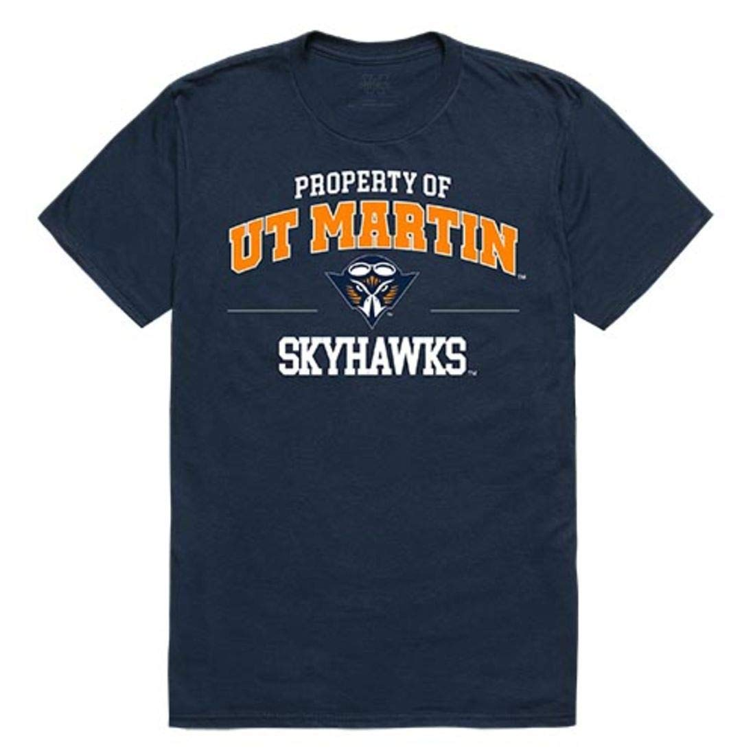 Utm University Of Tennessee At Martin Skyhawks Property Tee T Shirt Navy