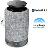 1Mii Long Range Bluetooth Speaker Wireless Speaker, Portable Speaker with Music Mode&Vocal Mode, 10W 360⁰ Music Speakers, Built-in 8000 mAh Power Bank, AUX-in, Black (Model:A1000) (Grey)