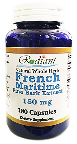 French Maritime Pine Bark Extract 150mg 180 Capsules - Extract 180 Capsules
