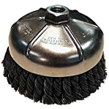 Makita 743209-A 2-3/4'' Knot Cup Wire Brush Carbon Steel - 5/8''-11 Arbor