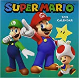 Books : Super Mario 2019 Wall Calendar