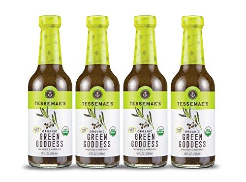Tessemae's All Natural 4-Pack Salad Dressing (Organic Green Goddess)