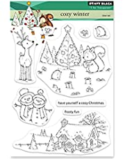 Penny Black Clear Stamps-Cozy Winter