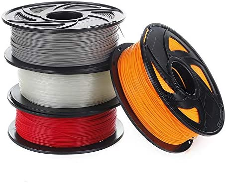 MICEROSHE Filamento de Impresora 3D Pro 1kg 1,75 mm ABS filamento ...