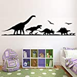 Dinosaur Room Decor Wall Decals - Dinosaur Vinyl Stickers Decor for Boys Room Bedroom - Dinosaur Jurassic Park World Art Poster Pictures Decorations DI026
