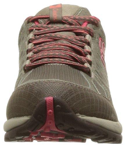 Columbia PEAKFREAK ENDURO OUTDRY BL3841 - Zapatillas de montaña para mujer Marrón (Braun (Truffle, Laser Red 211))