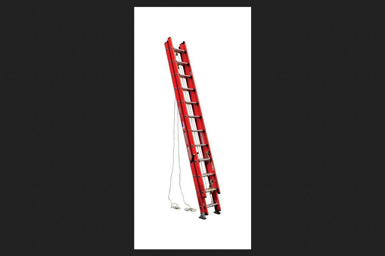 Werner, D6232-3, Extension Ladder, Fiberglass, 32 Ft, Ia