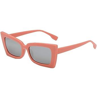 VECDY Gafas De Sol Moda Hombre Mujer Marco Irregular Gafas ...