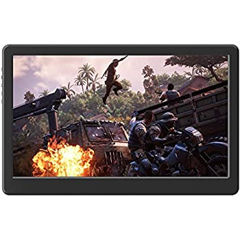 """GeChic 1503A 15.6"""" Portable Monitor with HDMI, VGA input, USB Powered, Ultralight Weight, built-in Speakers, Rear Docking"""