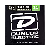 Dunlop DEK1150 Pure Nickel Medium/Heavy Electric Guitar 6-String Set, .011-.050 Gauge