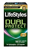 Lifestyles Dual Protect Condoms, 10 Count