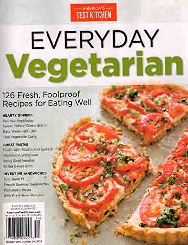 - America's Test Kitchen Everyday Vegetarian 2016