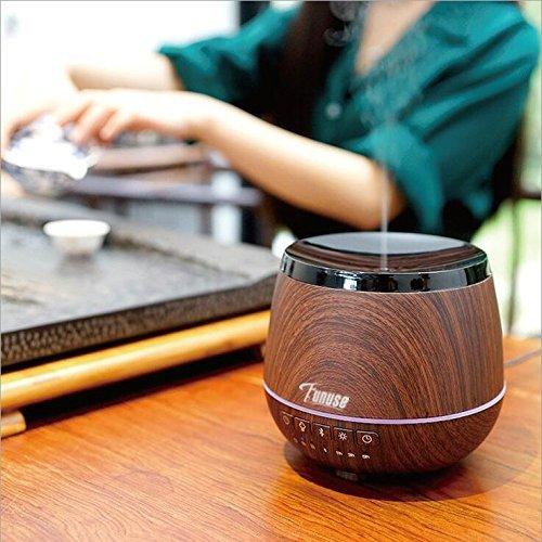 Essential Oil Diffuser with Bluetooth Speakers - FUNUSE