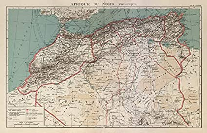 Amazon.com: Colonial French North Africa. Afrique du Nord ...