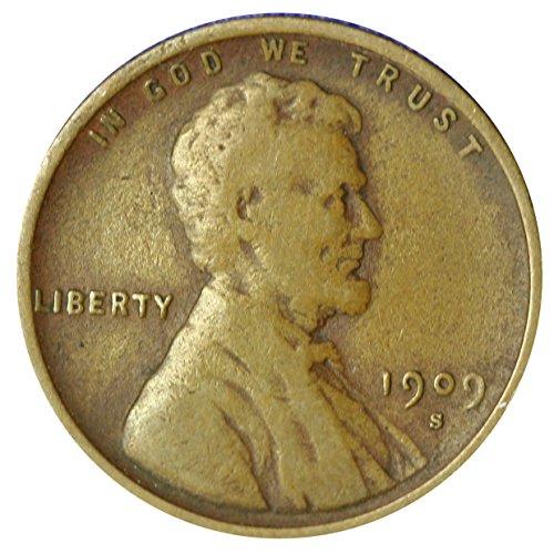 1909 S Wheat Penny Very Good ()