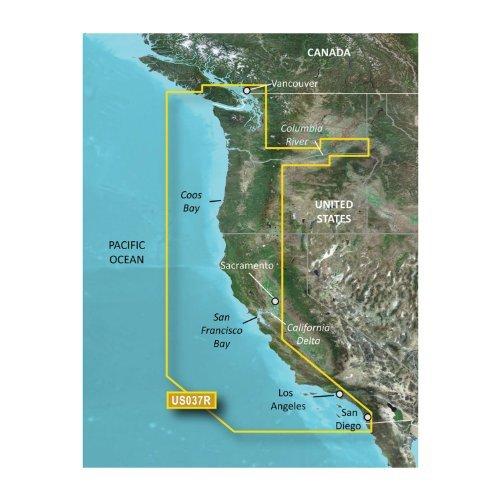Garmin Bluechart G2 VUS037R Vancouver San Diego Vision microSD Card Maps by Garmin