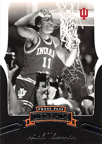 Isiah Thomas basketball card (Indiana Hoosier NCAA Championship) 2007 Press Pass #33