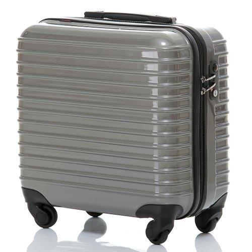 ビジネススーツケース・TSAロック・小型(1~3泊)・軽量・横型・機内持ち込みTravelhouse(darkgrey)