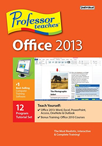 Professor Teaches Office 2013 Windows PMM-O13