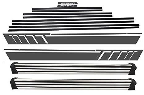 Kitt stickerw463dg exterior Kit adhesivos de puerta molduras adhesivo negro para Tunning: Amazon.es: Coche y moto