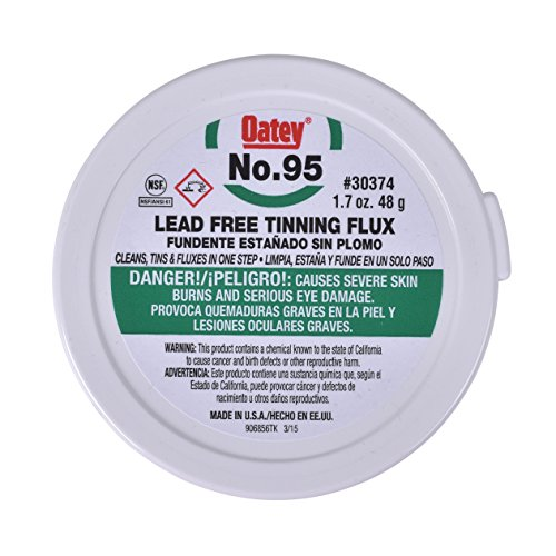 Oatey Company 30374 1.7 Oz #95 Flux (Photo Soldered Charm)