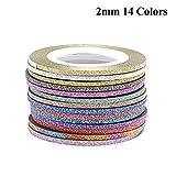14 Colors/Gold&Silver Set Beauty Rolls Matting