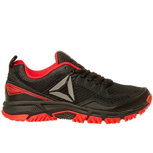 Reebok Bd2246, Zapatillas de Senderismo para Hombre Negro (Black / Primal Red / Silver)
