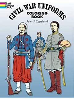 From Antietam to Gettysburg: A Civil War Coloring Book (Dover ...