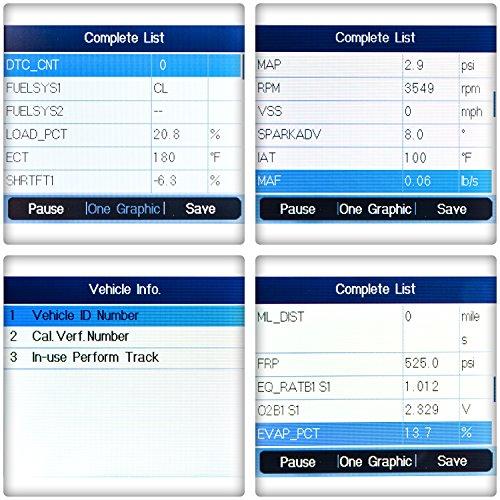 OBD2 Scanner Digital Code Reader Autel Maxilink ML619 Diagnostic Code Scanner ABS SRS Auto Code Reader Car Diagnostic Scan Tool by MaxiLink (Image #3)