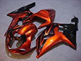 Orange Black Complete Injection Fairing for 2000-2002 Suz...