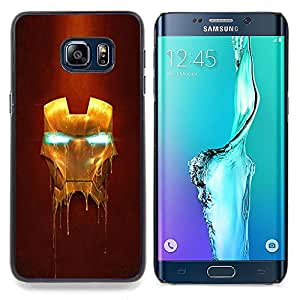 - Iron Superhero Mask/ Hard Snap On Cell Phone Case Cover - Cao - For Samsung Galaxy S6 Edge Plus