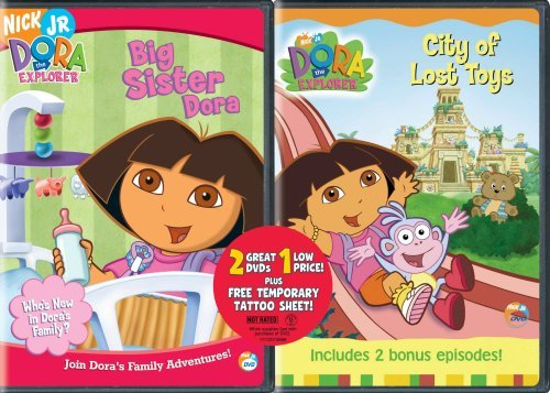 Dora the Explorer: Big Sister Dora/City of Lost (Big Sister Dora)