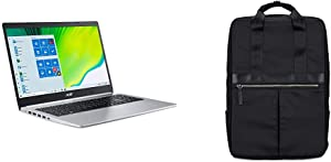"Acer Aspire 5 A515-44G-R83X, 15.6"" Full HD, AMD Ryzen 5 4500U Hexa-Core Mobile Processor, AMD Radeon RX 640, 8GB DDR4, 256GB NVMe SSD & Acer Travel Laptop Backpack"