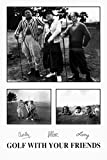 Three Stooges Movie (Golf With Your Friends) Poster Print - 24x36
