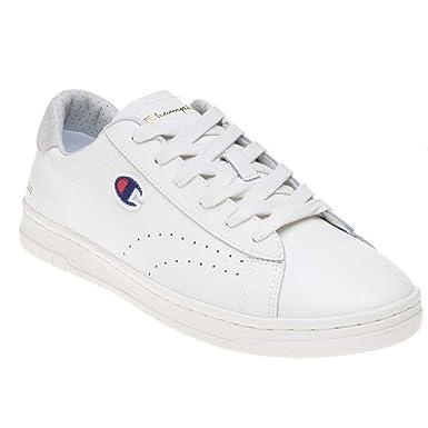 ff81ecf4fd2bd Amazon.com  Champion Court Club Mens Shoes White  Clothing