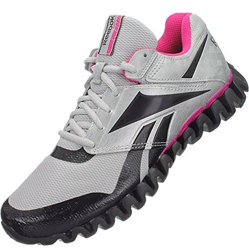 Damen Pink Zignano W Grau Reebok Laufschuhe Storm J84549 Jogging Walking 70RfFzHqw
