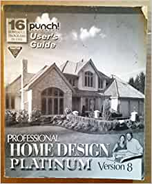 Punch home design architectural series 3000 user 39 s guide punch software books for Punch home design architectural series