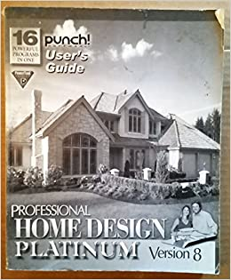 Captivating Home Design Architectural Series 3000 .. Useru0027s Guide: Punch Software:  Amazon.com: Books